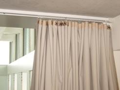 Deckenschiene Vorhang trennvorhang ballfangnetze hallenteiler wartungs und